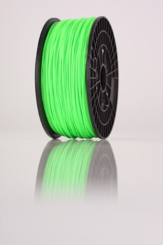Filament imprimante 3D sur bobine 1kg ABS 1.75mm VERT ,makerbot,reprap,ultimaker,up