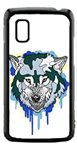 HeartCase Hard Case for Google Nexus 4 LG E960 ( Wolf Animal )