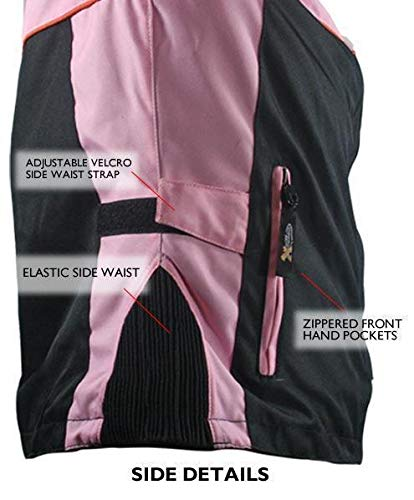 Amazon.com: Xelement CF462 - Chaqueta de moto para mujer ...