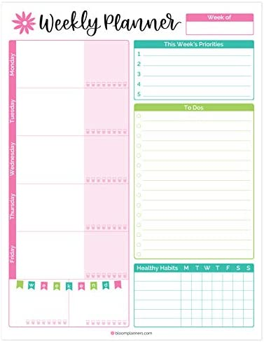 bloom daily planners Weekly Planning