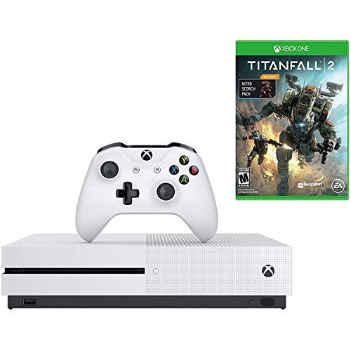 Microsoft Xbox One S Gaming Console 1TB 4K BluRay Console and Titanfall 2 Bundle (Renewed)