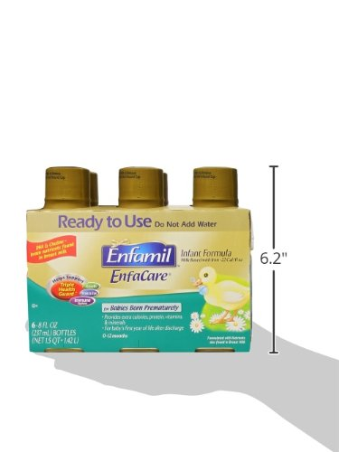 Enfamil EnfaCare Ready to Feed Premature Newborn Baby Formula Milk, 8 Fluid Ounce (24 count), Omega 3 DHA by Enfamil (Image #13)