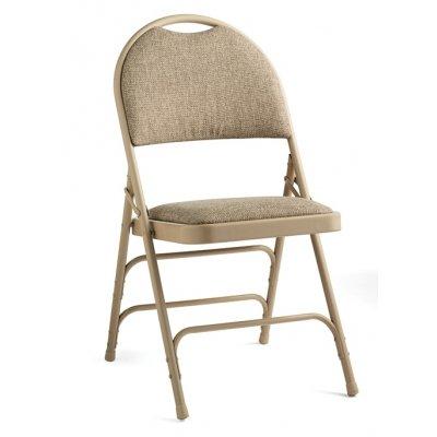 Samsonite 57316-2900 Comfort Series Padded Fabric Folding Chairs, Set of (Samsonite Fabric Chair)