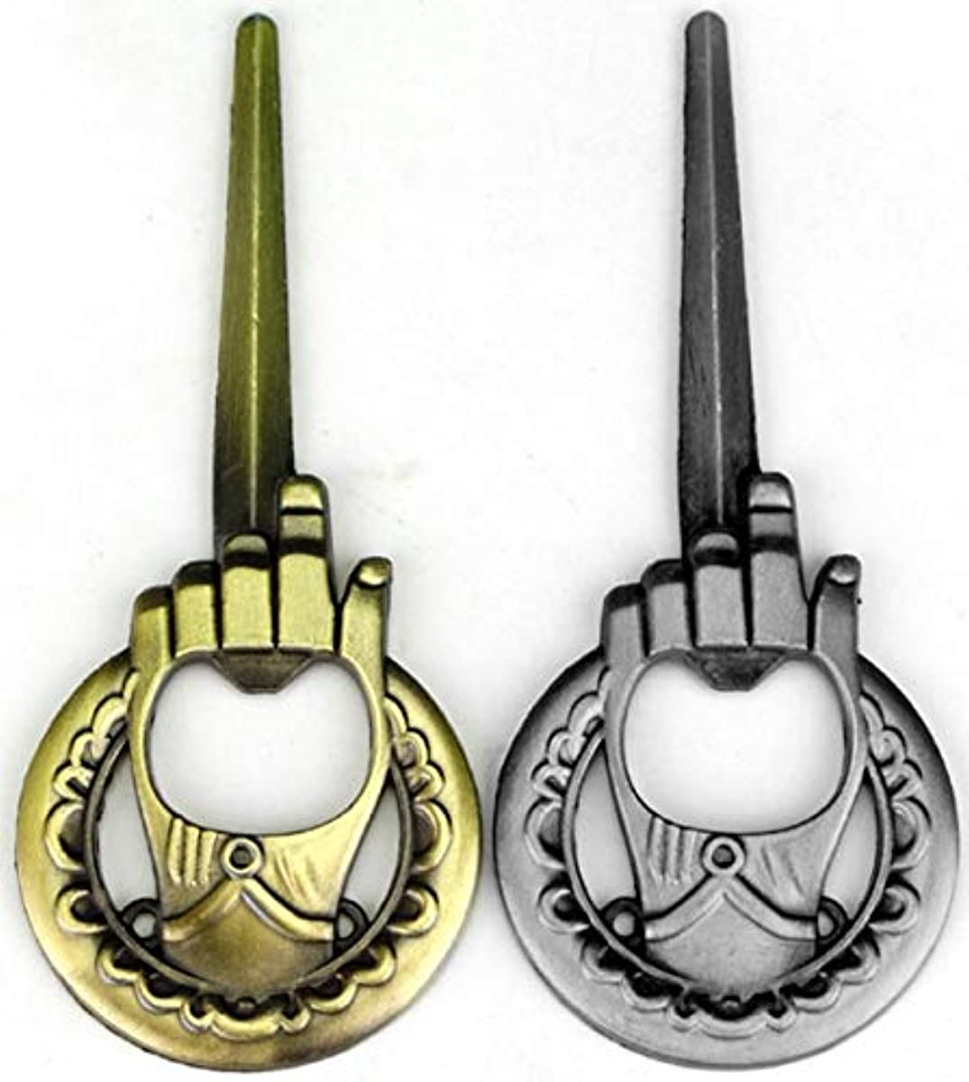 Hand Of The King Bottle Opener 2-Pack - Game Of Thrones Style - Bronze and Silve