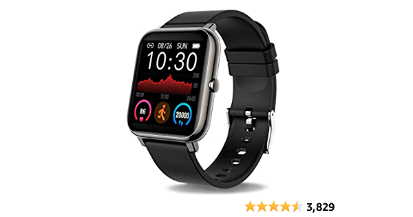 Donerton Smart Watch, Fitness Tracker 1.4 for Android Phones, Fitness Tracker with Heart Rate and Sleep Monitor, Activity Tracker with IP67 Waterproof Pedometer Smartwatch Step Counter for Women Men