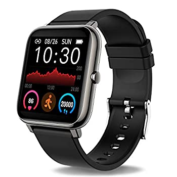 Donerton Good Watch, Health Tracker 1.4 for Android Telephones, Health Tracker with Coronary heart Price and Sleep Monitor, Exercise Tracker with IP67 Waterproof Pedometer Smartwatch Step Counter for Ladies Males