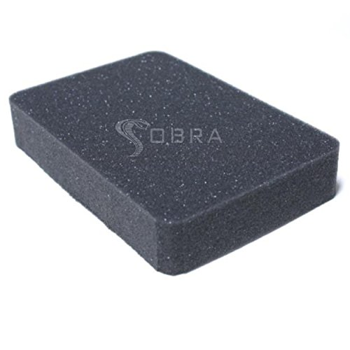 Cobra 1301 Replacement Foam Inserts Set for Pelican Case 1300 (2 Pieces) - Cut Foam Insert