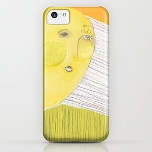 Le Soleil Rencontre La Lune iPhone & iphone 5c Case by Kristy Lynn