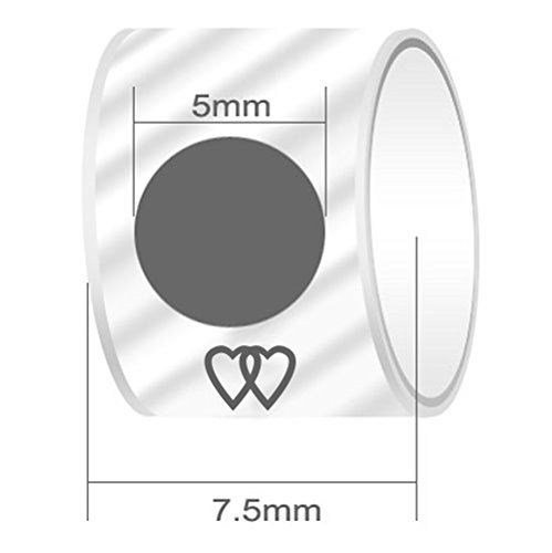 Fervent Love 18th Cylindrical Photo Charm Beads