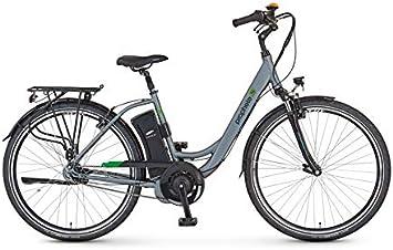 Prophete - Bicicleta eléctrica de aluminio City AEG GENIESSER e9.6 ...