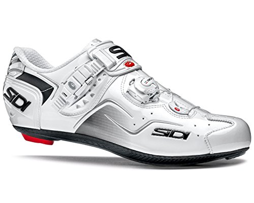 五月階下うまくいけばSIDI(シディ) KAOS(カオス) Road Cycling Shoes - White/White [並行輸入品]