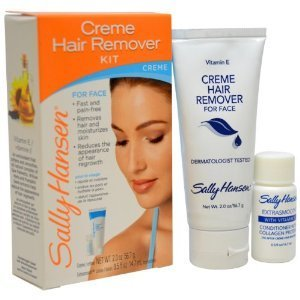 Sally Hansen Creme Hair Remover Kit for Face, Lip and Chin (Case of 6) by Sally Hansen