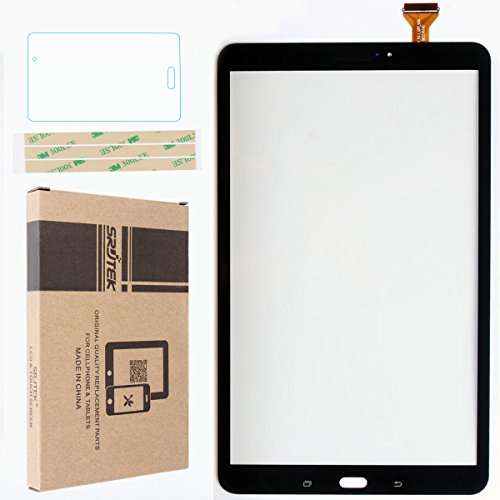 Srjtek Touch Screen Digitizer for Samsung Galaxy Tab A 10.1,Replacement Parts for T580 T585 SM-T580 SM-T585(Black)