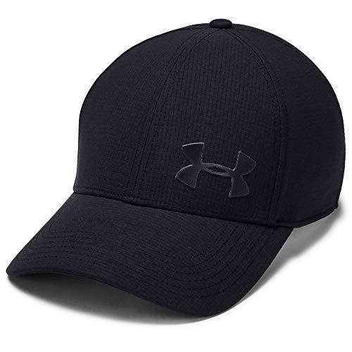 Under Armour Men's AV Core Cap 2.0, Black//Metallic ore, Large/X-Large (Under Armour Hats For Men)