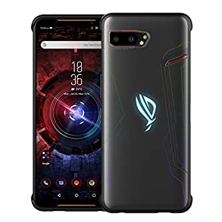DDJ ASUS ROG Phone II Case, Frosted Ultra Slim TPU Case Cover Soft, Flexible and Lightweight Shockproof, Dirt-Repellent Bumper Shell for ASUS ROG Phone II ZS660KL (Frosted)