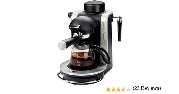 Ufesa CE7125 - Máquina de café (Vienna, 750 W, 230 V, 230 MB/s, 50 Hz, 170 x 270 x 280 mm), color negro y gris: Amazon.es: Hogar