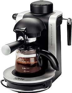 Ufesa CE7125 - Máquina de café (Vienna,   750 W, 230 V, 230 MB/s, 50 Hz, 170 x 270 x 280 mm), color negro y gris