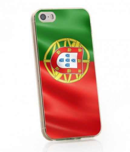 ArktisPRO 1122201 Portugal Flaggen Hülle für Apple iPhone 5/5s
