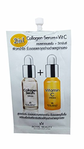 8 Packets Of Collagen Serum   Vi C By Royal Beauty   8 G  Packet