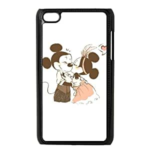 Disney Mickey Mouse Minnie Mouse iPod Touch 4 Case Black&Phone Accessory STC_959408