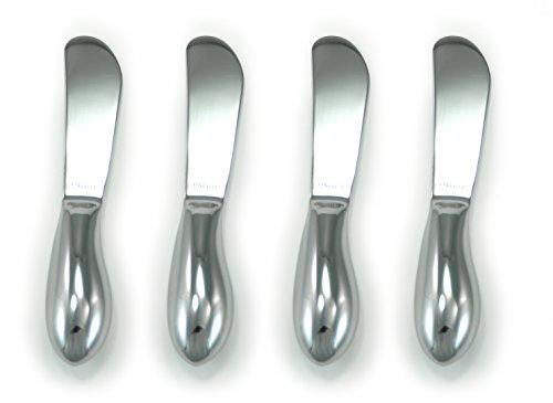 Oneida 4-Piece Cheese Spreader Set, Stainless Steel