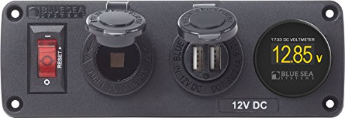 Blue Sea Systems 4356 Below Outlet Deck ()