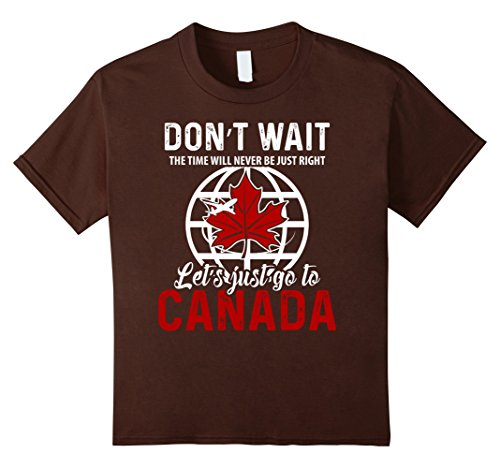 kids-canada-t-shirt-lets-just-go-to-canadian-pride-flag-t-shirt-4-brown