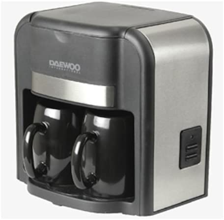 Cafetera – Duo con 2 tazas – di-9023: Amazon.es: Hogar