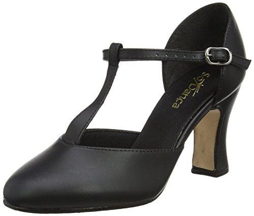 So Danca Ch98, Zapatos de Tap para Mujer Negro (Black)