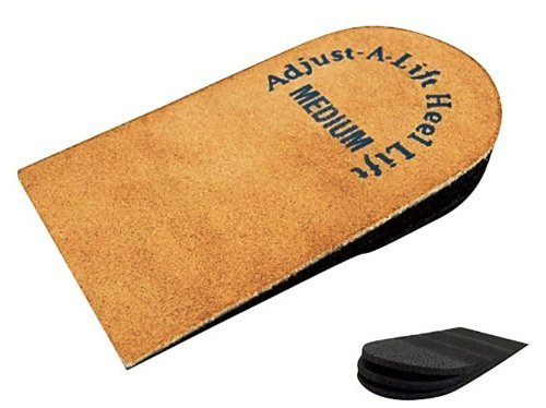 Orthopedic Heel Lift - Adjustable Heel Lift, Medium Heel Lift Insert - Single