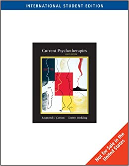 Current Psychotherapies, International Edition