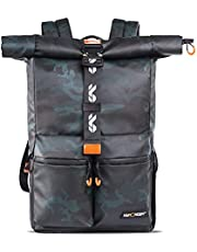 K&F Concept 2-in-1 Camera Backpack, Travel Camera Backpack Waterproof with 20 Liters for Photography and Hiking, Anti-Theft Camera Bag for Camera Lens Tripod Laptop Clothes Accessories