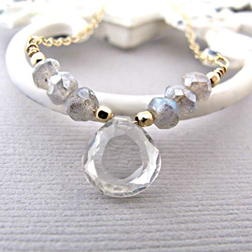 Rainbow Labradorite Pendant - labradorite necklace natural Silver labradorite necklace blue flash rainbow labradorite genuine labradorite jewelry labradorite pendant