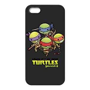 iPhone 4 4s Cell Phone Case Black Ninja Turtles Bpui