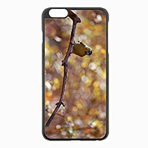 iPhone 6 Plus Black Hardshell Case 5.5inch - branch bokeh Desin Images Protector Back Cover