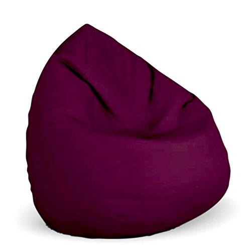 Sitzsack Planium XL mit Füllung BeanBag Sitzkissen Bodenkissen Kissen Sessel