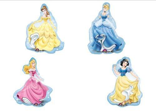 Disney Princess Birthday Party Balloons X4 XL Decorations Supplies by Balloon Emporium