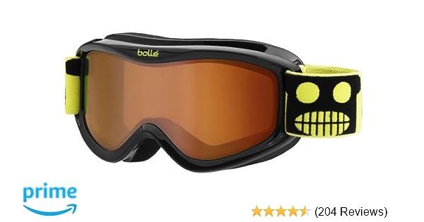 71aa5e96a8997e Amazon.com   Bolle 21105 AMP Ski Google, Black Robot   Sports   Outdoors