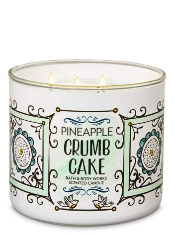 Bath & Body Works Pineapple Crumb Cake 3-Wick Candle (Best 3 Wick Candles)