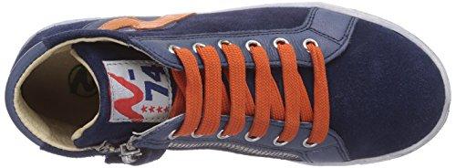 Hautes Bleu Blau Mixte Naturino Force arancio9101 Baskets Navy Enfant 7qBwEXO
