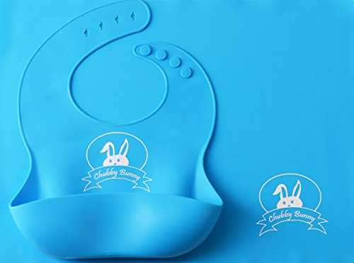Premium Silicone Bib and Placemat with Pocket Set for Baby & Kids (Table Pockets Set)