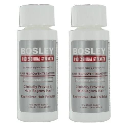 Bosley Professional Strength Hair Regrowth Treatment Regular Strength for Women (2 pack)
