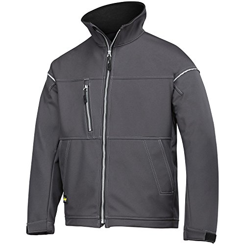 Snickers Mens Profiling Soft Shell Workwear Jacket (M) (Steel Grey)