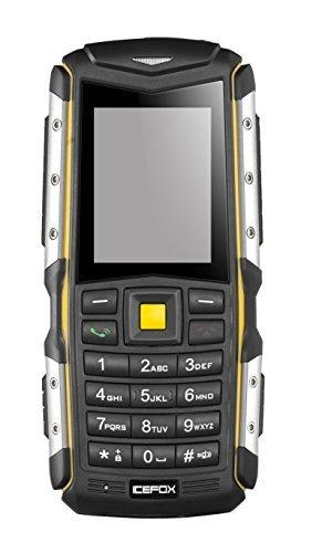 Icefox Outdoor Handy,2,0 Zoll IP67 Wasserdicht,Stoßfest Dual Sim Handy Ohne Vertrag