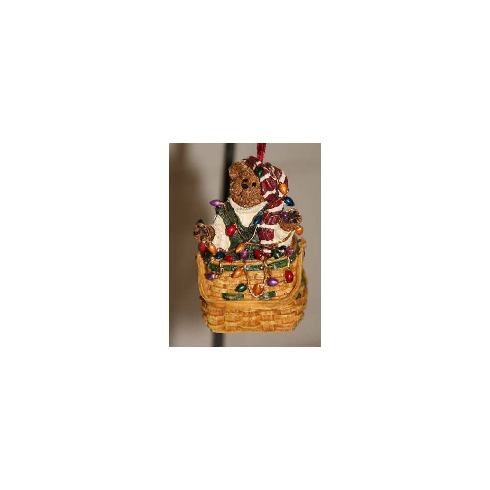 Boyds Bears & Friends Longaberger 2003 O. O. Tanglebeary Christmas Ornament