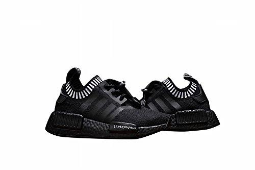 Poco Kid NMD Primeknit Qwer deporte zapatos moda zapatos transpirable desgaste, Niños, negro, UK1.5=EUR32=21CM
