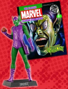 Classic Marvel Figurine Collection Magazine #8 Green (Classic Marvel Magazine)