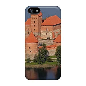 BeverlyVargo Premium Protective Hard Cases For Iphone 5/5s- Nice Design - Trakai Castle Lithuania