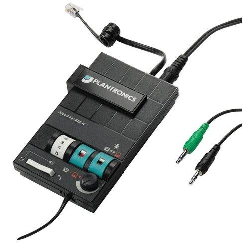 Plantronics MX10 Headset Switcher Multimedia Amplifier ()