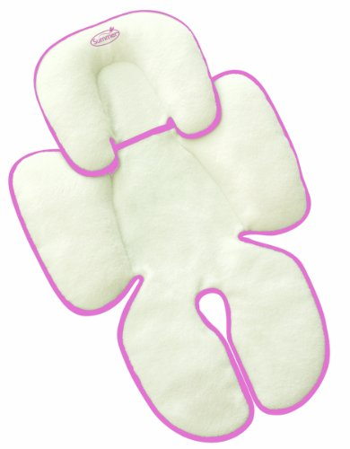 Summer Infant Snuzzler Infant Support for Car Seats and Strollers, Velboa Pink from Summer Infant
